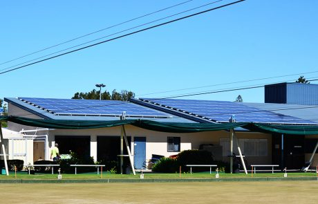 solar for bowls clubs