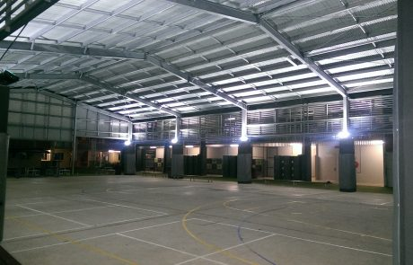 LED lighting for sports areas